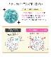 ボディピアス 16G つやつやコーティングパヴェ ストレートバーベル(1個売り)[通販]◆オマケ革命◆