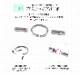 ボディピアス キャッチ 18G 16G 14G カスタム用ジョイントキャッチパーツ(1個売り)[通販]◆オマケ革命◆