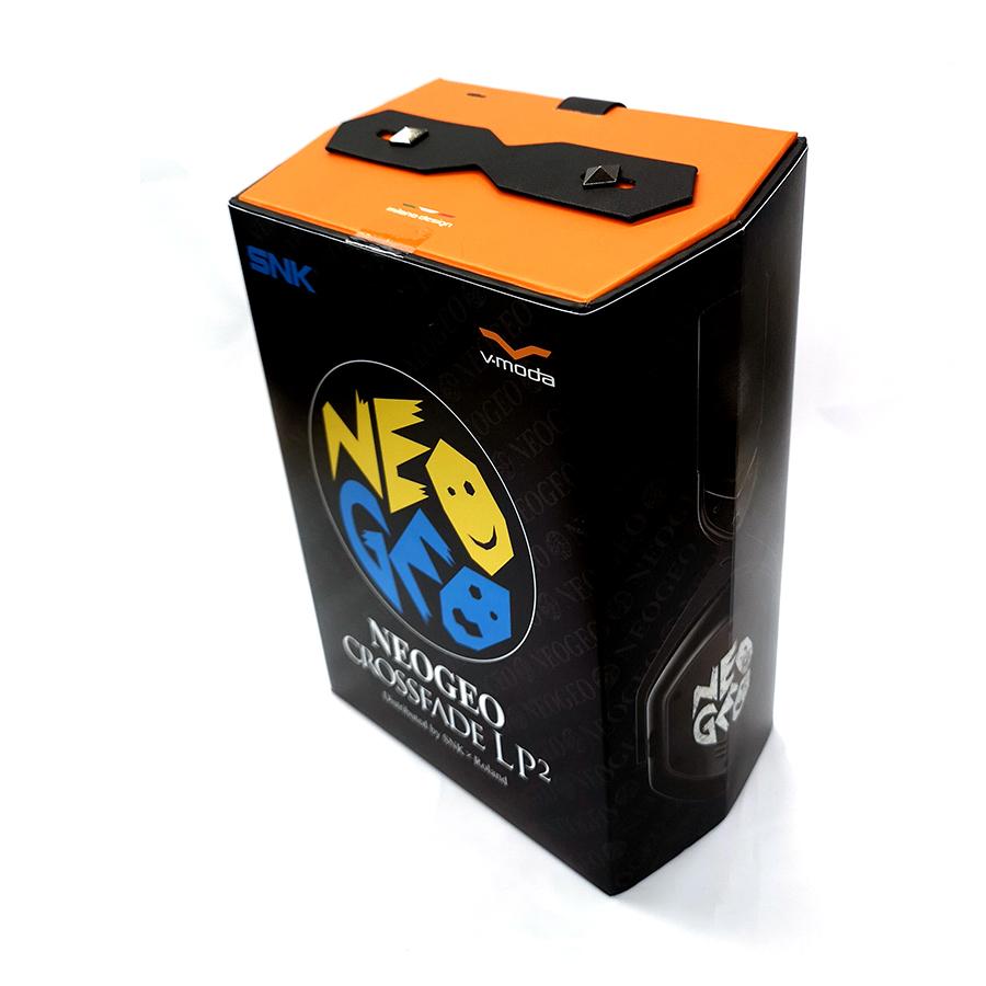 SNK x Roland V-MODA NEOGEO CROSSFADE LP2