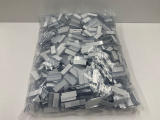両面テープ付フック 25mm幅 10ピース入り、100ピース入り、お得用1000ピース入り