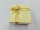 限定価格  リング用紙箱 リボンBOX  1ダース(12個) (クリーム)