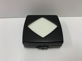 〔No21670〕スチール製ルースケース(台紙黒白リバーシブル)シルバー・黒