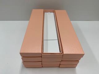 紙ペンダントM 12個入り (シャンパンゴールド・川縞ピンク・白(限定))