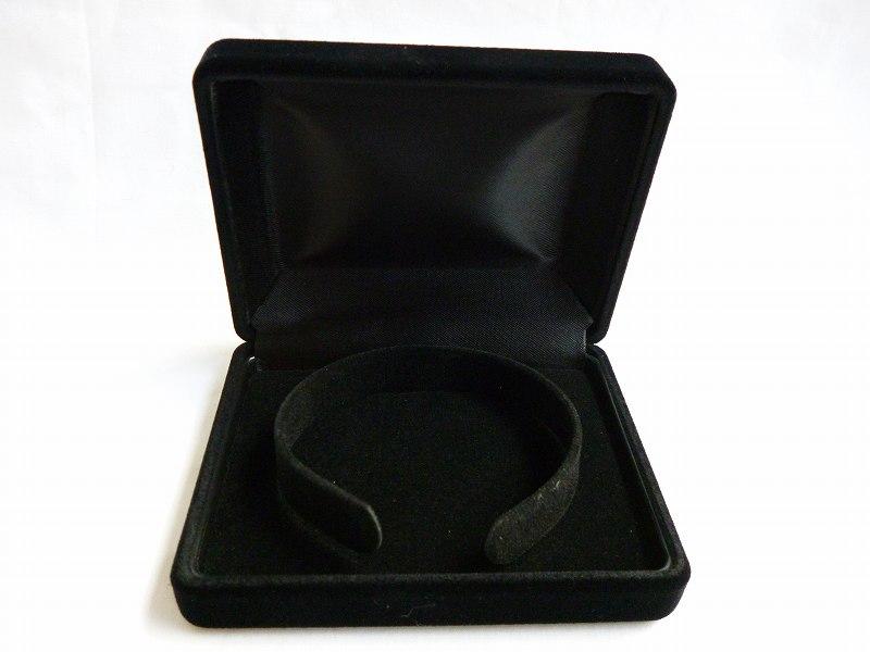 〔YS170(BRA)〕ブレス用ケース黒(オールクロ)1ダース(12個入り)