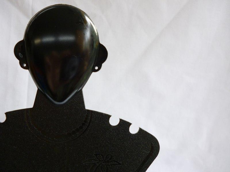 [No.1974]LADY ピアス・ネックレススタンド 黒