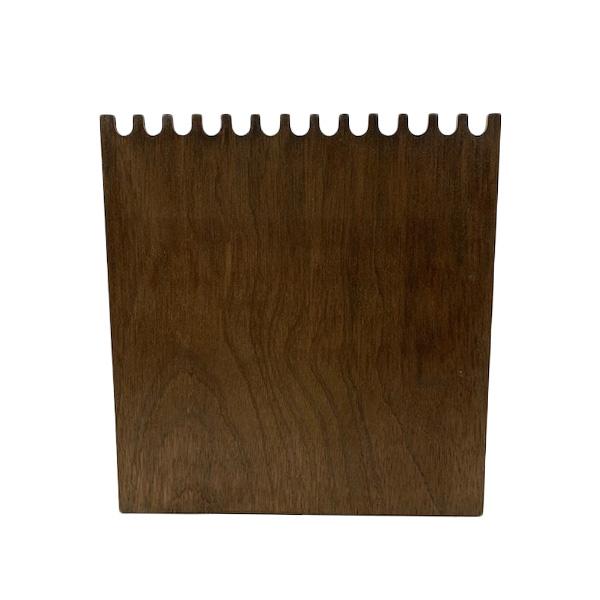 〔No9537〕ネック用 ウッドボード(茶・白)
