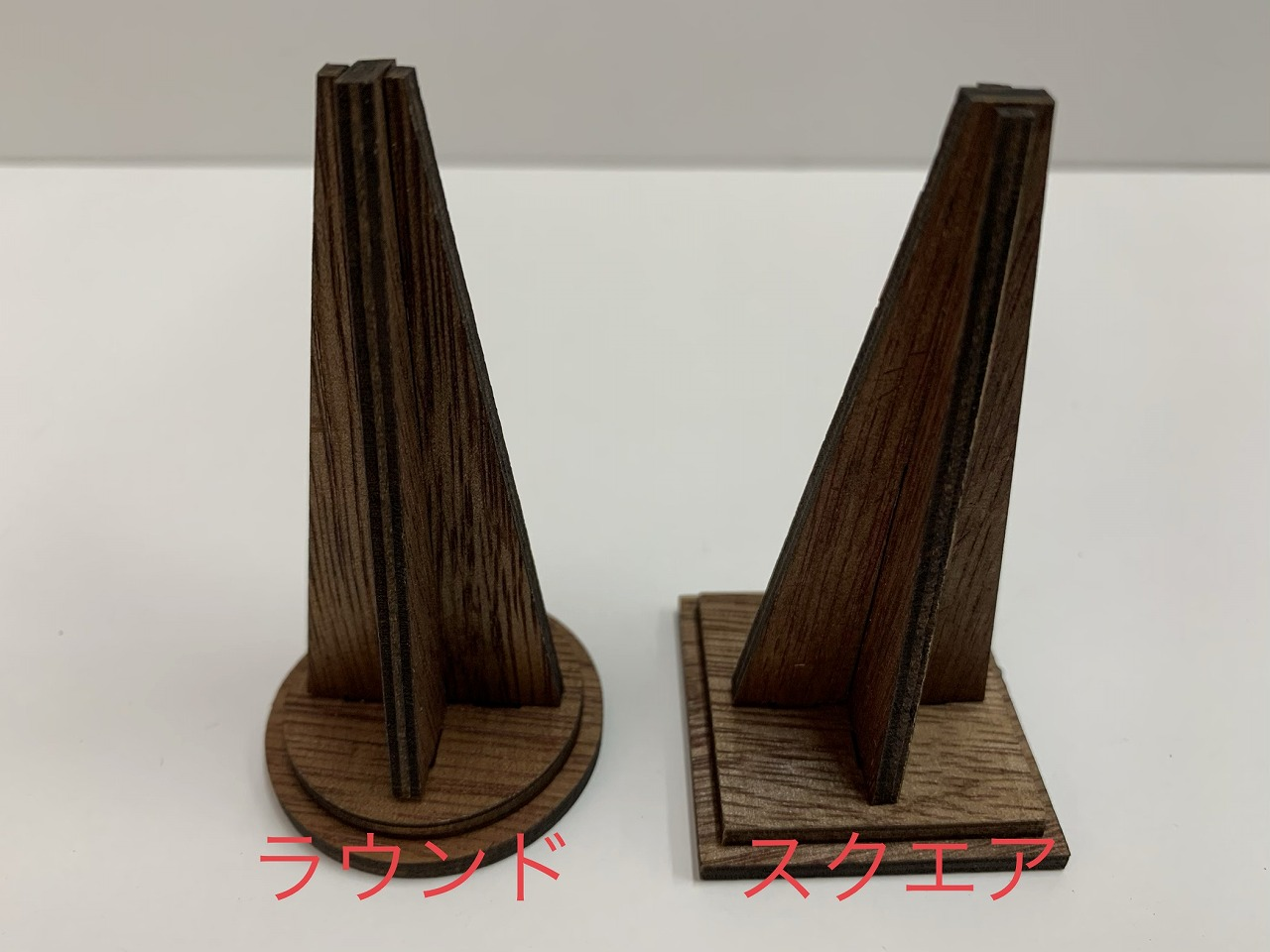 [No10264・10265]木製リングDS(ラウンド・スクエア)リング1個用