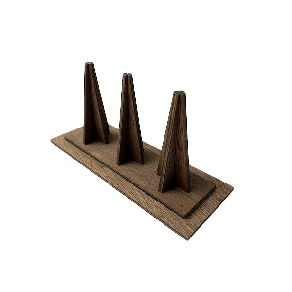 [No10266]木製リングDS リング3個用