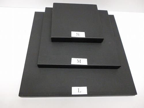 〔No.9548〕ステージS(100×100mm)(布貼り白・黒 合皮貼り白・黒)