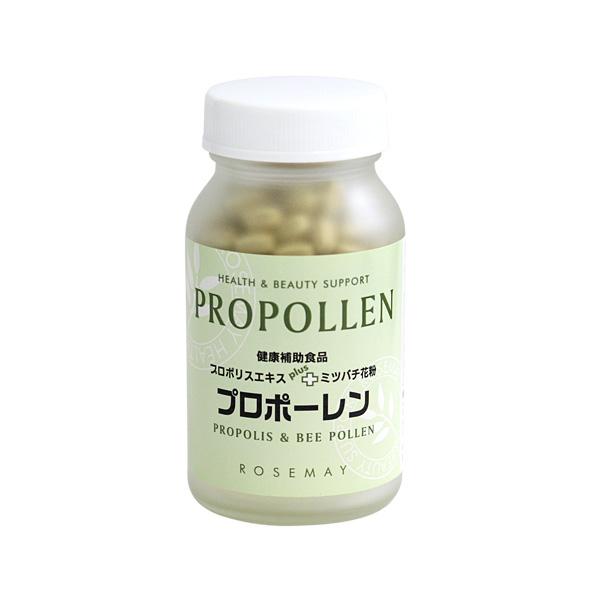 蜜蜂花粉とプロポリスサプリ プロポーレン