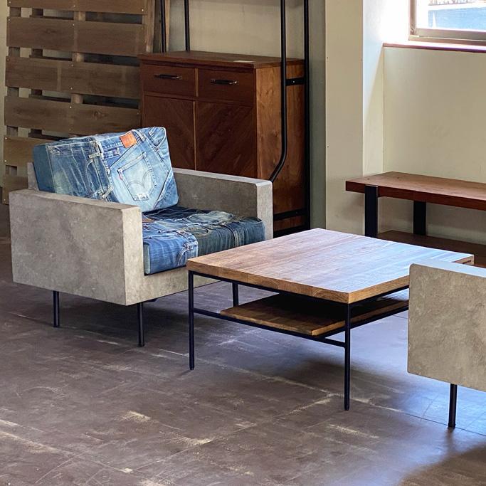 Guile Sofa Chair Denim