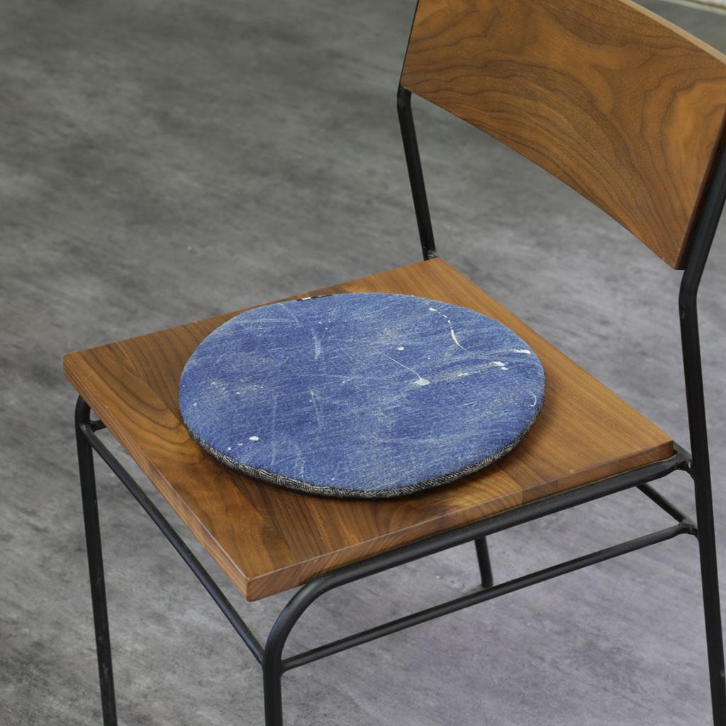 Chair Pad Japan-Blue Denim