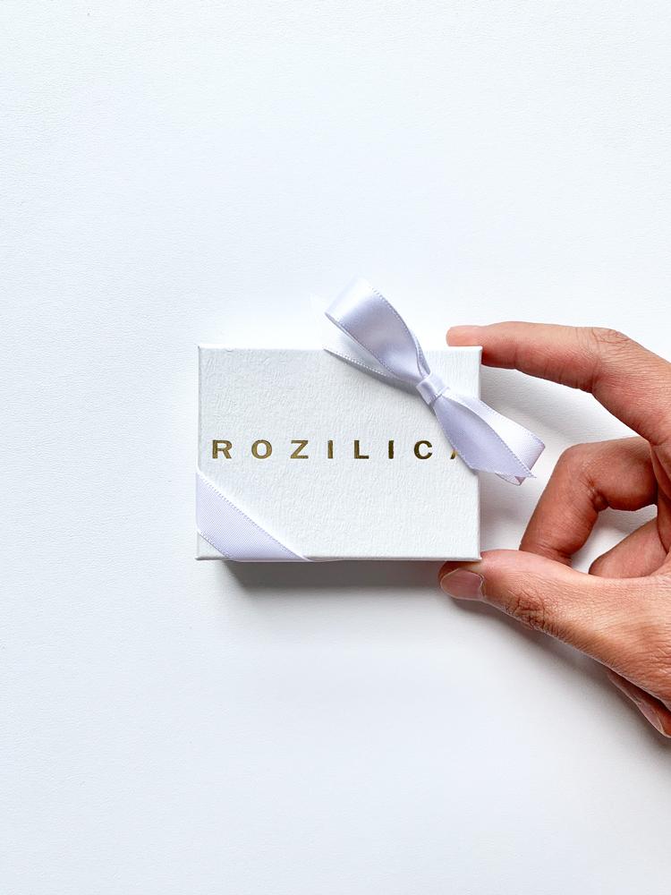 スクエア チェーンピアス ROZILICA/ロジリカ レディース アクセサリー シルバー ゴールド 【セール中】