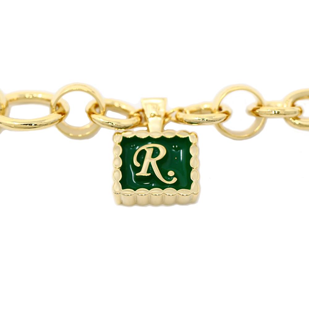 [R.]チャーム ブレスレット GOLD