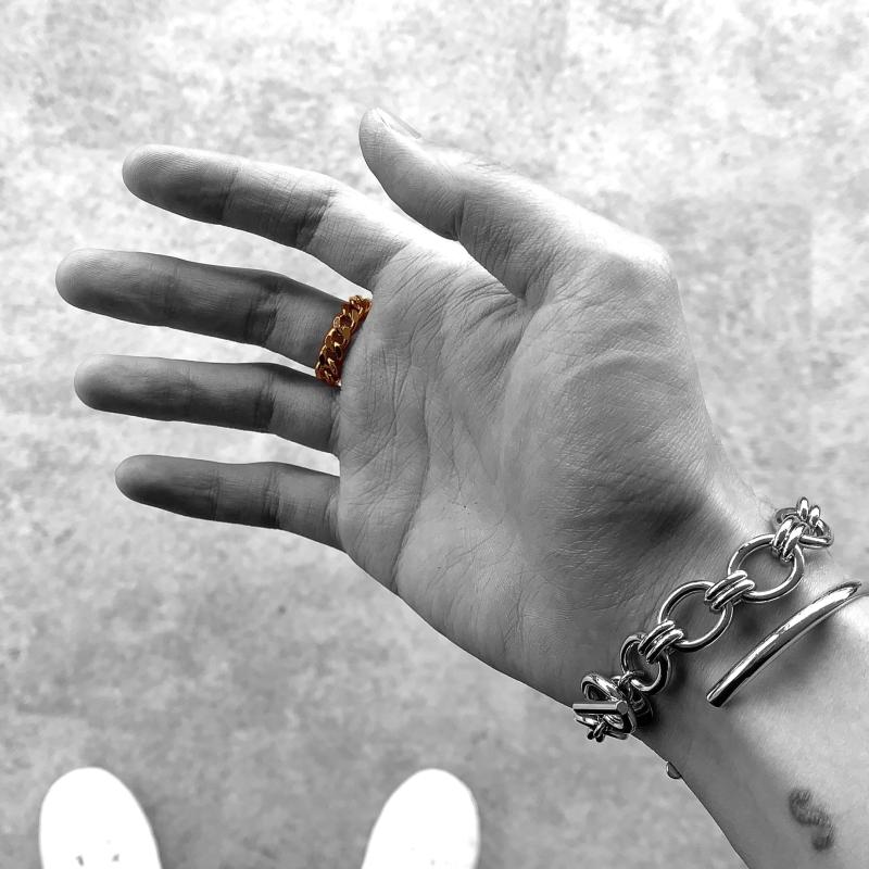 [R.] ブレスレット ROZILICA/ロジリカ メンズ アクセサリー シルバー ゴールド