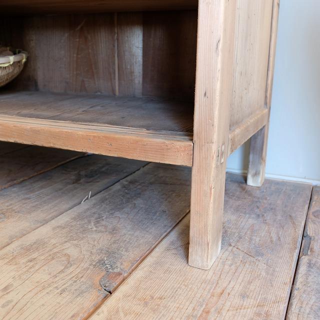 収納棚 格子板戸