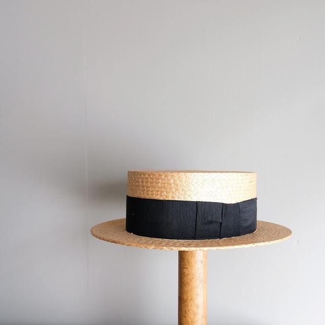 カンカン帽 アンティーク