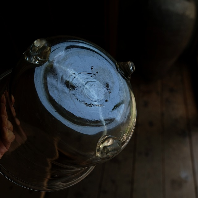金魚鉢 3本足