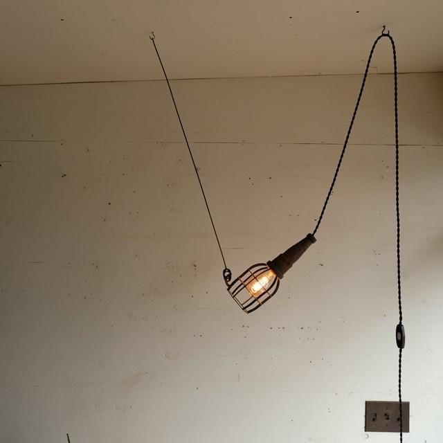 引っ掛け式ライト 工業系