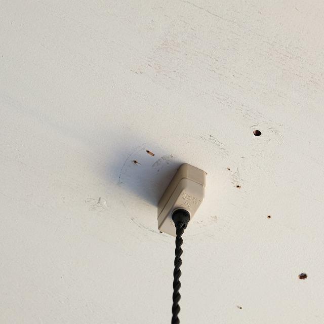 籐のペンダントライト