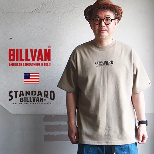 BILLVAN マックス・ヘビー アメカジTシャツ ビルバン ボックスシルエット