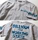 Tシャツ メンズ アメカジ BILLVAN ビルバン アメカジプリント半袖Tシャツ WORKING 726A ヘビーウェイト Tシャツ