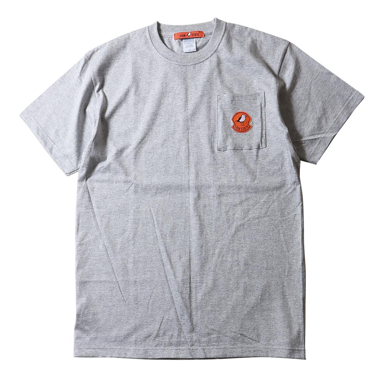 SIGN STATE ヘビーボディ10カラー ポケット付きTシャツ サインステート アメカジ サーフ メンズ ポケットTシャツ