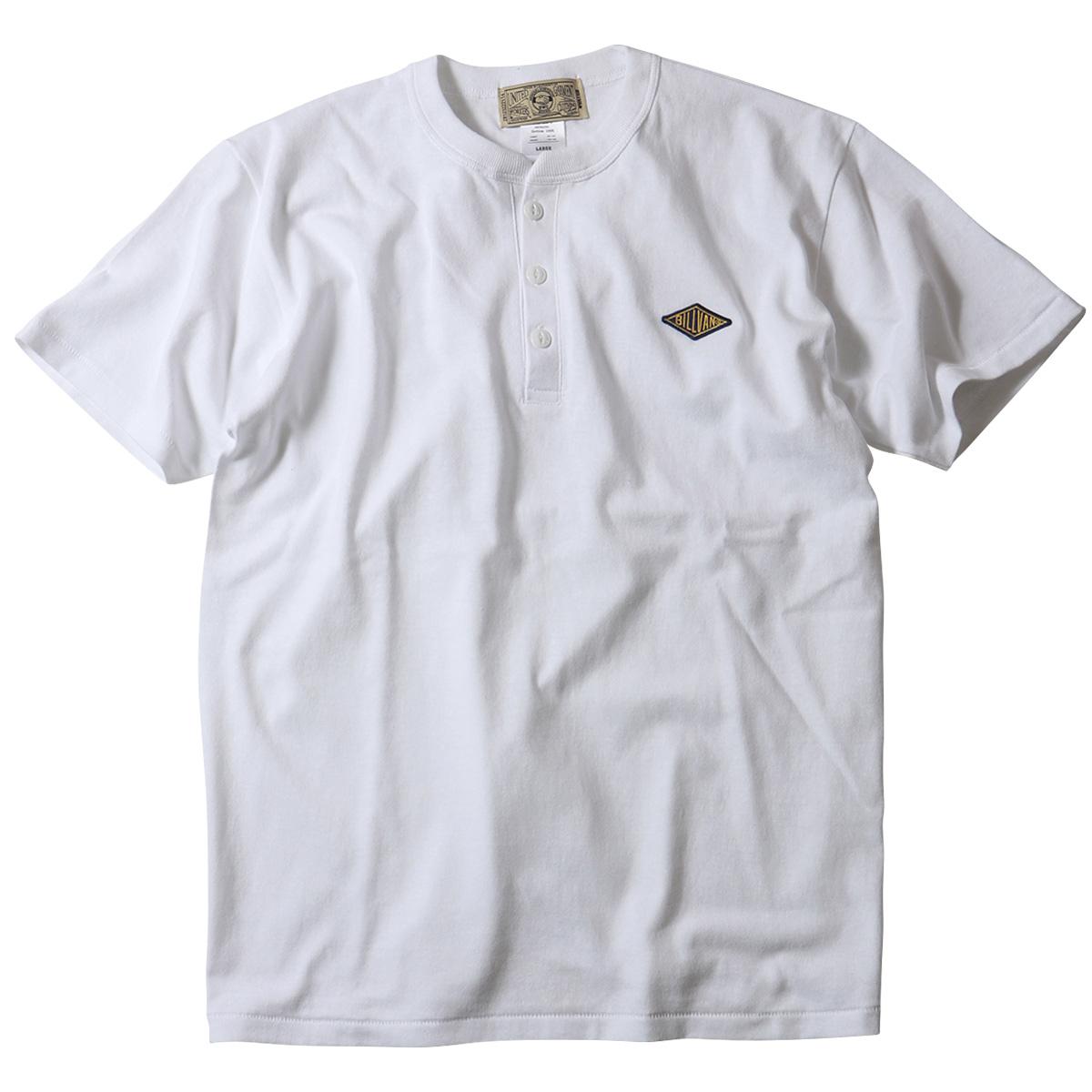 BILLVAN オーセンティック・ヘンリーネック 半袖Tシャツ ビルバン アメカジ
