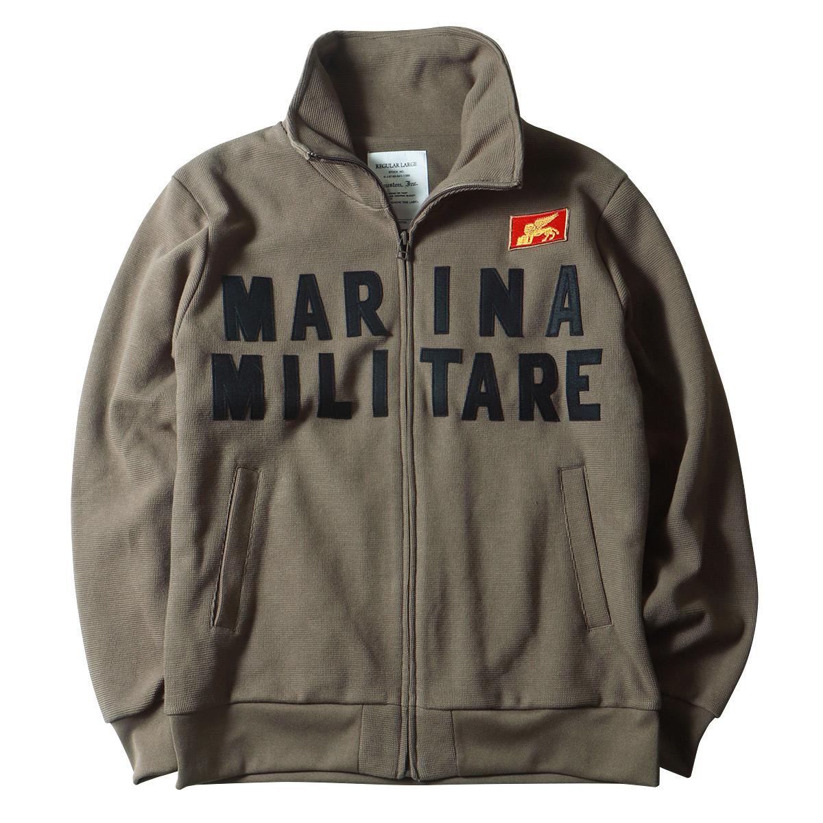 HOUSTON ヒューストン イタリア海軍 MARINA トラックジャケット アメカジ ミリタリー ジャージ