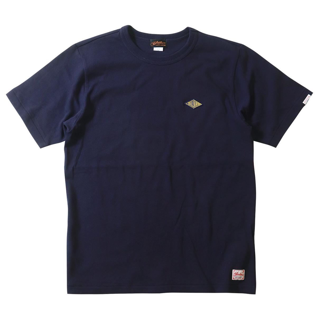 Tシャツ BILLVAN ワンポイントワッペン ヘビーTシャツ 190418b ビルバン メンズ