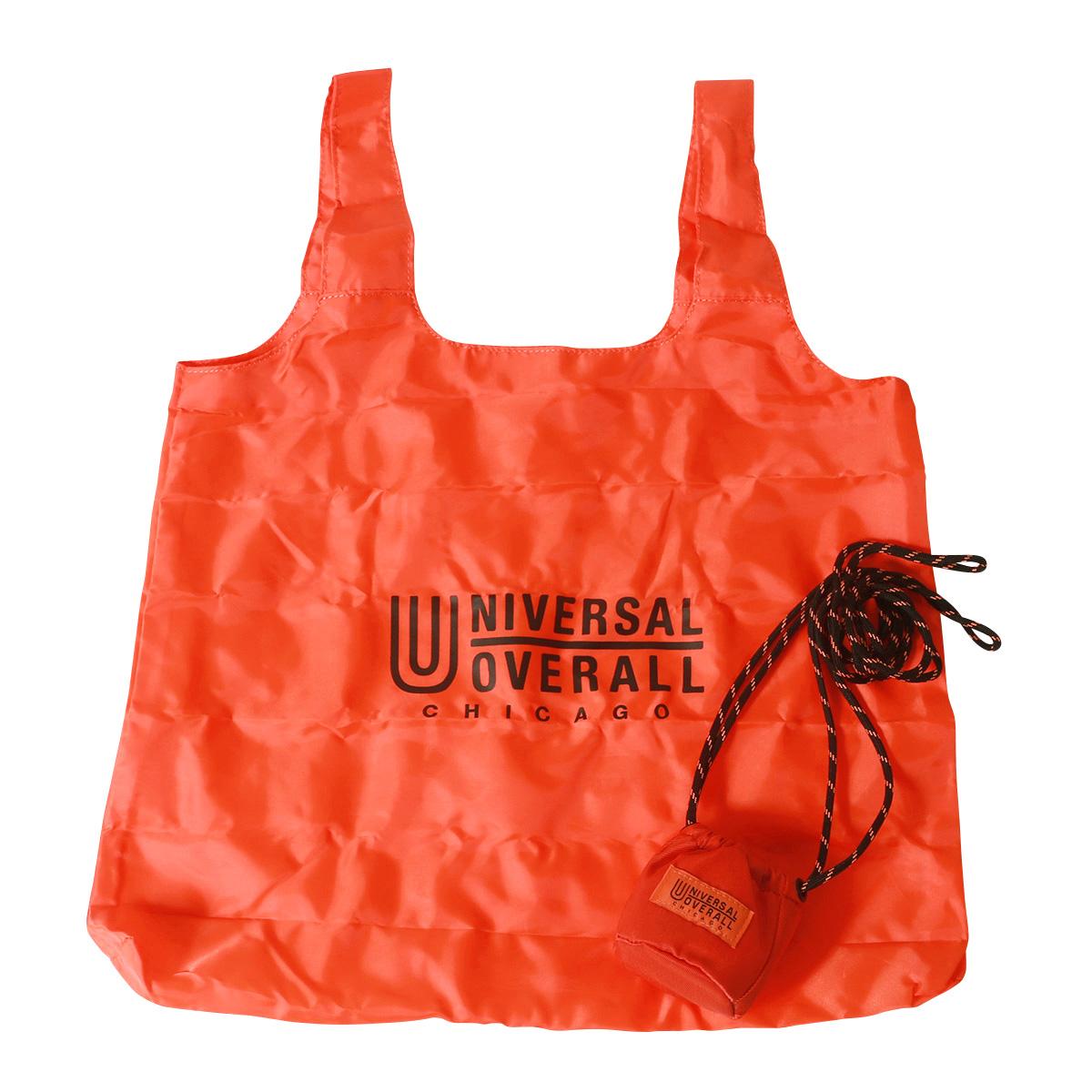 UNIVERSAL OVERALL へそ巾着ポーチ・エコバッグ・ユニバーサルオーバーオール アメカジ