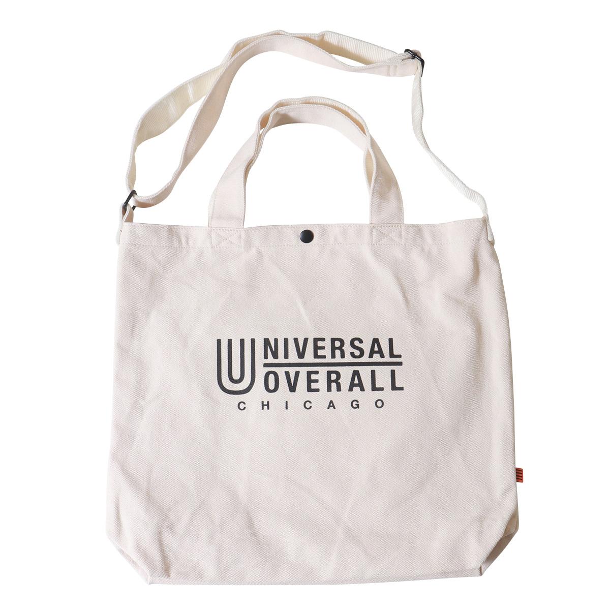UNIVERSAL OVERALL ・キャンバス・スーベニア 2WAYトートバッグ ・ユニバーサルオーバーオール アメカジ