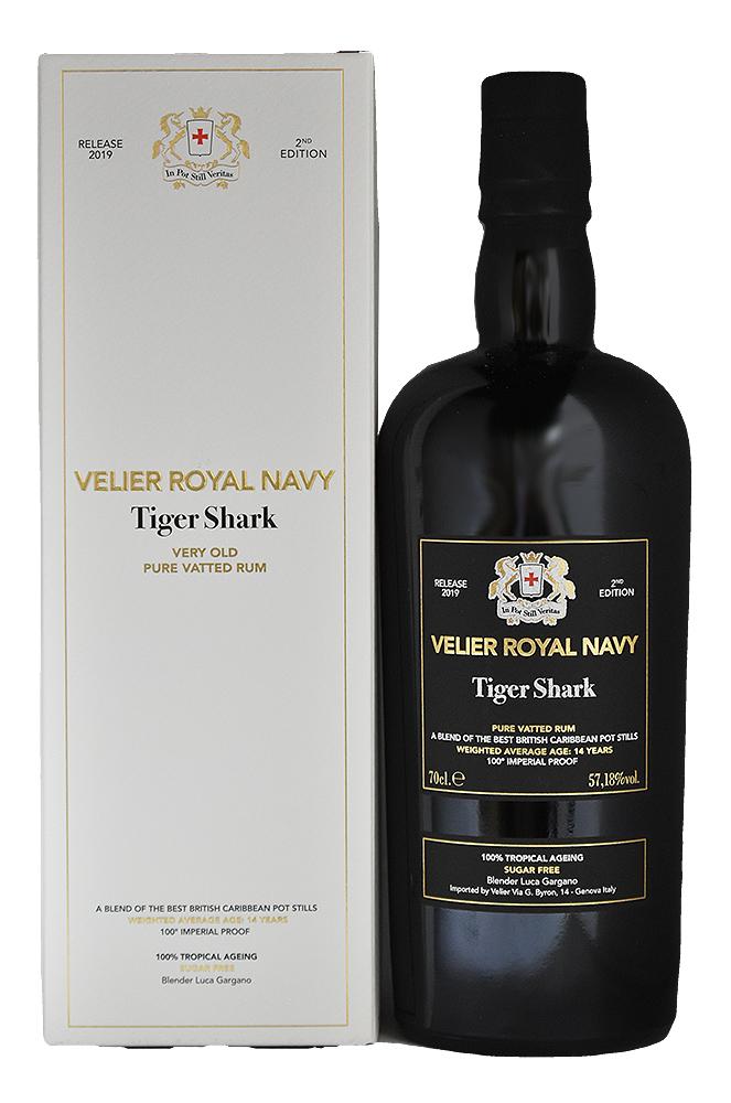 ROYAL NAVY 2ND TIGER SHARK<br>VELIER<br>ロイヤルネイビー 2nd タイガーシャーク<br>ヴェリエ