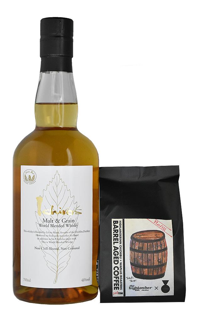 ICHIRO'S MALT&GRAIN WHITE & BARREL AGED COFFEE 2nd Batch Refill<br>Drink at Home set<br>イチローズ モルト&グレーン ホワイト & バレルエイジドコーヒー セカンドバッチ リフィル セット<br>【送料込み価格】