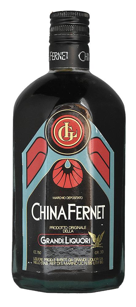 CHINA FERNET Lotation 1980s GRANDI LIQUORI<br>キナ フェルネット 1980年代流通品