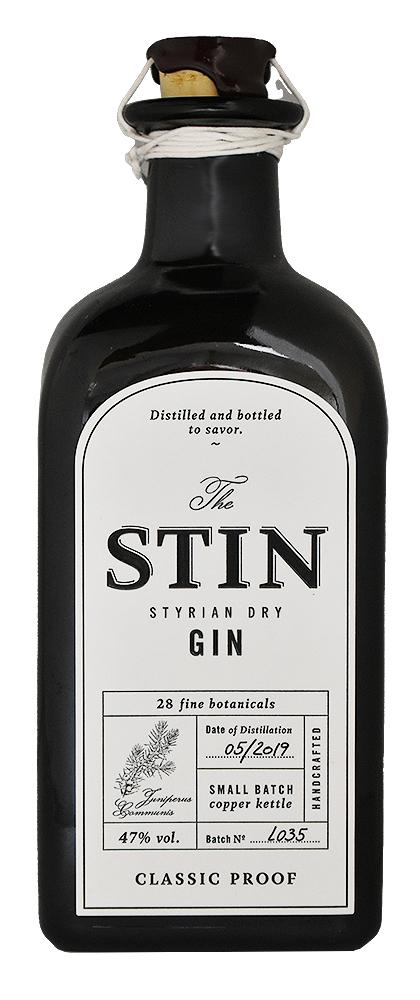 STIN STYRIAN DRY GIN<br>スティン ドライジン