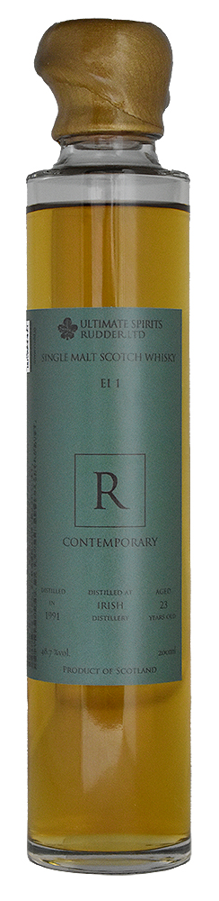 IRISH SINGLE MALT 1991 23YO<br>BUNCH BOOKS EIDOLON CONTEMPORARY El1<br>アイリッシュシングルモルト 1991 23年<br>バンチブックス エイドロン コンテンポラリー El1