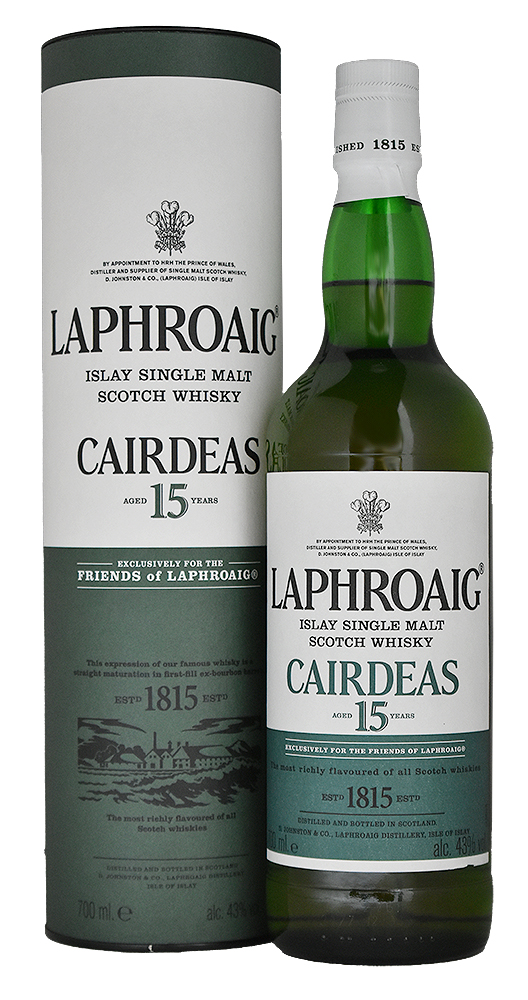 LAPHROAIG CARDEAS 15YO FOR FOL 2017<br>ラフロイグ カーディス 15年 FOR FOL 2017