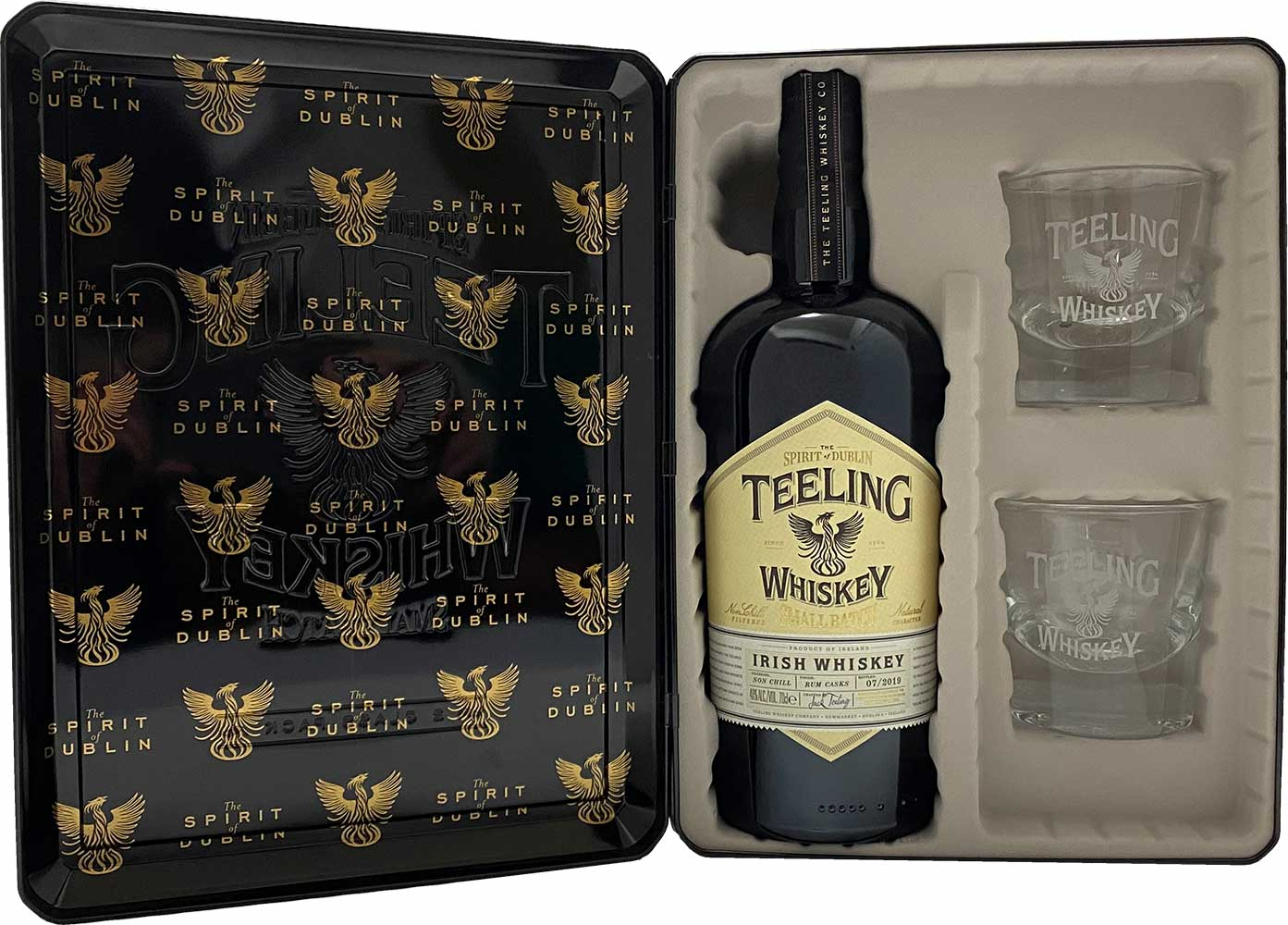 TEELING SMALL BATCH BLENDED<br>GIFT PACK<br>ティーリング スモールバッチ ブレンデッド<br>ギフトパック(ロックグラス2個付き)