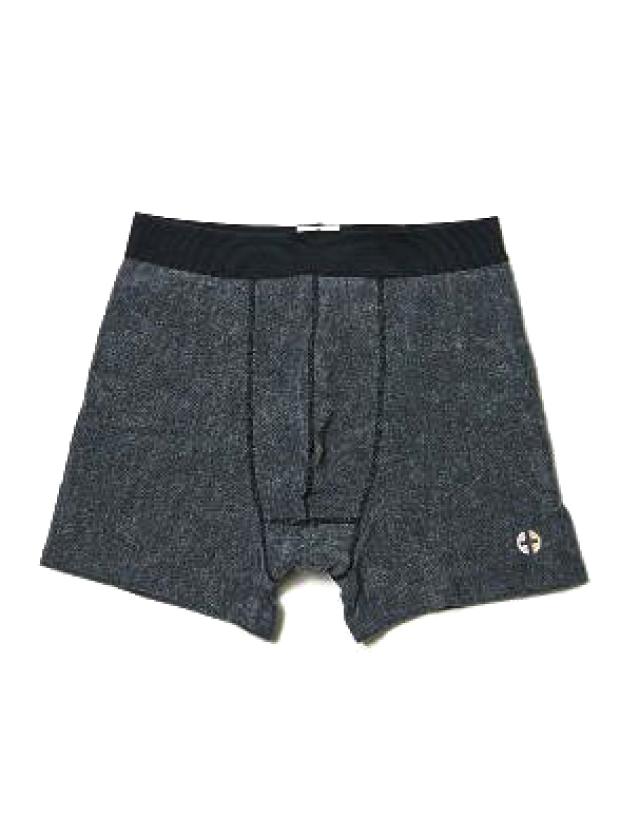 THING FABRICS DEODRANT BOXER PANTS / BLACK GREY