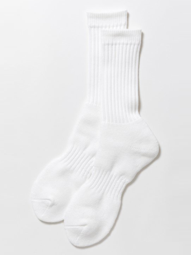 THING FABRICS PILE LINE SOX  / WHITE