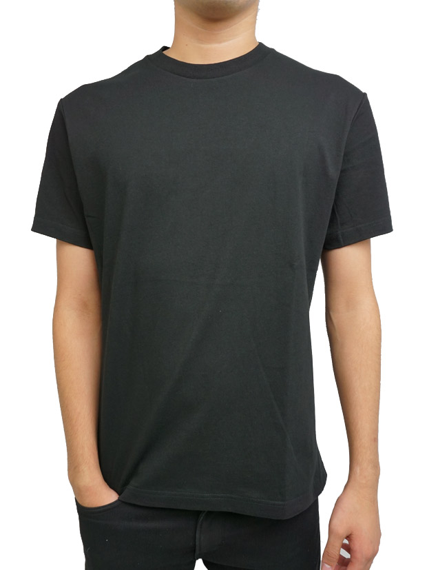 PIUORO 4 PANEL T-SHIRTS BLACK