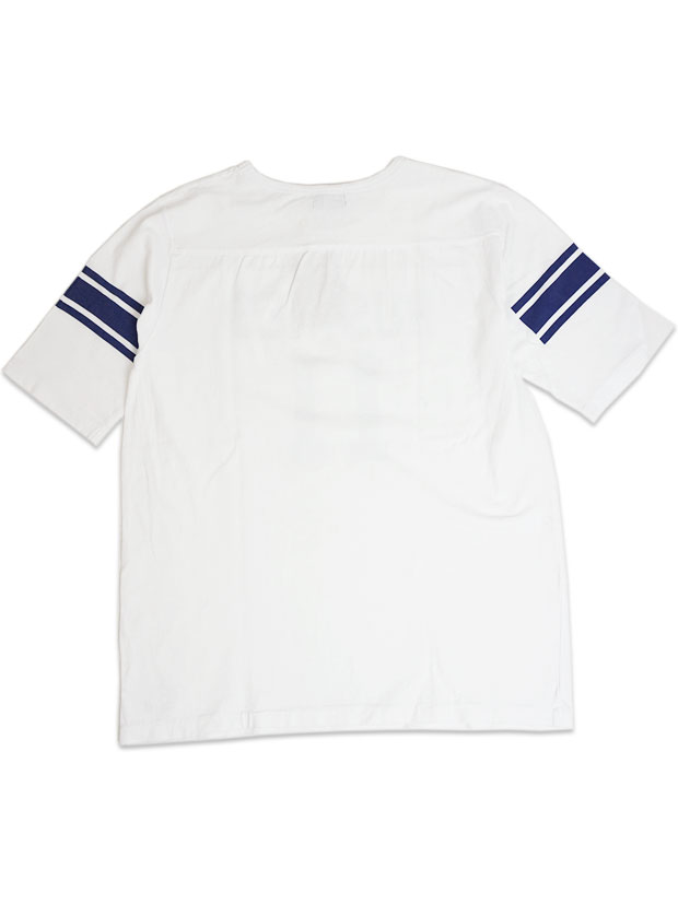 JOHN'S HUSKIES Football Tee WHITE