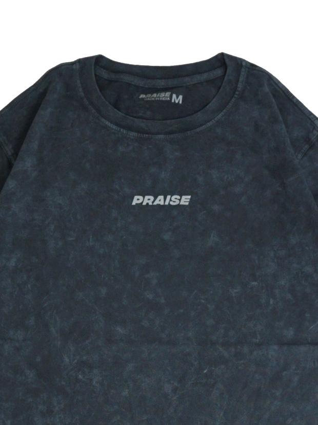 PRAISE CHROMER S/S TEE / BLACK