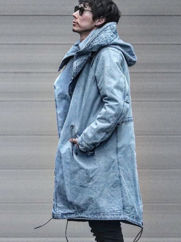 junhashimoto WRAP MODS COAT / USED