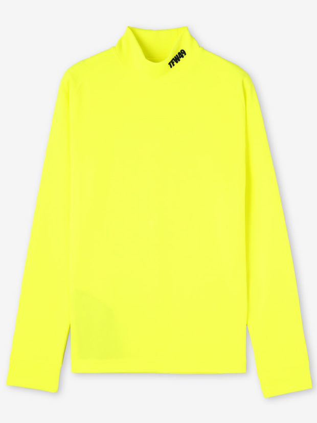 TFW49 MOCK NECK L/S / YELLOW