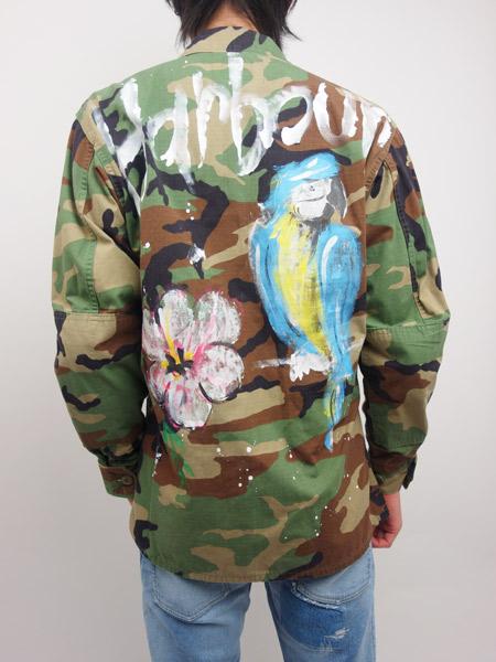 FRONTSTREET8 Parrot BDU shirts Camo