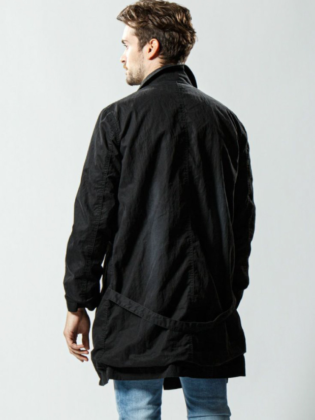 wjk military work coat / BLACK