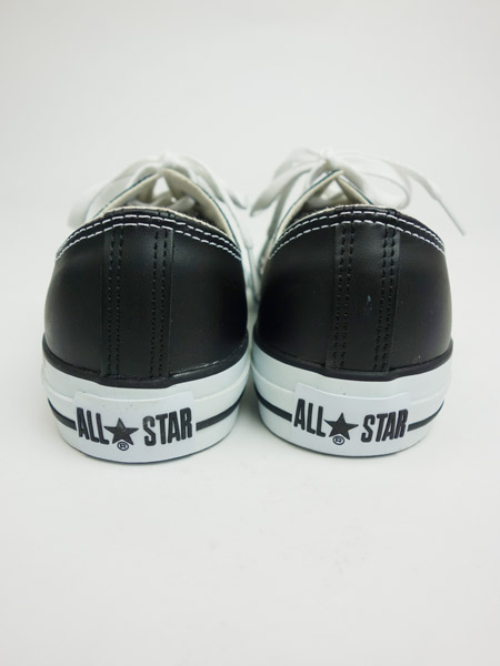 CONVERSE LEATHER ALL STAR OX BLACK