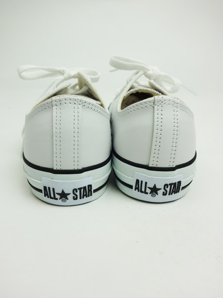 CONVERSE LEATHER ALL STAR OX WHITE